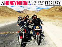 5 Best Honeymoon Destinations To Visit In February In India