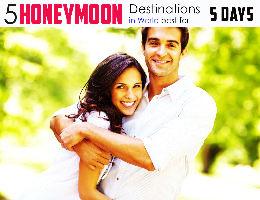 5 Best Honeymoon Destinations for 5 days