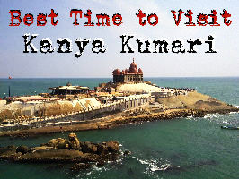 Best time to visit Kanyakumari