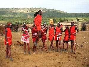 The Maasai's in Kenya: Trudging the Road of Modernity Retaining their Tradition