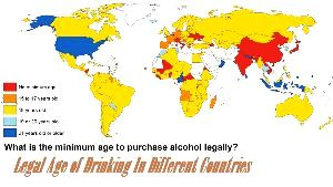 Legal Age of Drinking In Different Countries