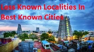 Less Known Localities In Best Known Cities