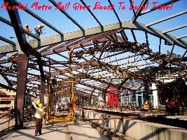 Mumbai Metro Rail Gives Boost To Local Travel