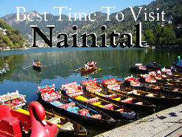 Best time to visit Nainital