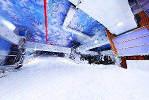 Ski India – The Sci-Fi themed Snow Planet Opens in Delhi-NCR