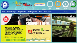New Micro Site launched for Railway Budget by Indian Railways