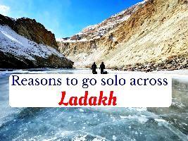 Reasons to go solo across Ladakh