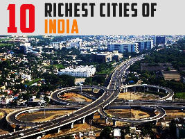 Top 10 Richest Cities In India 2019
