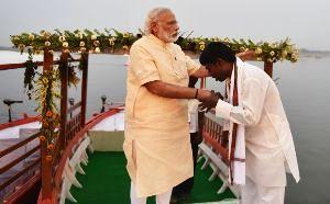 PM Modi Launched E-Boat In Varanasi