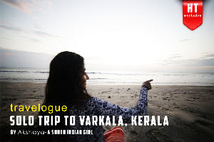 Solo Trip to Varkala, Kerala by a South Indian Girl - A Travelogue