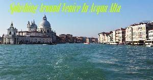 Splashing Around Venice In Acqua Alta