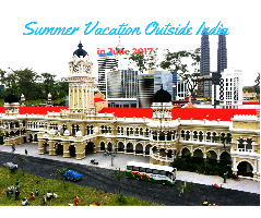 Best summer vacations destinations outside India in June 2019