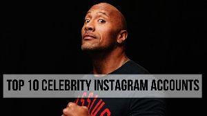 Top 10 Celebrity Instagram Accounts