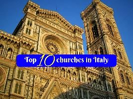 Top 10 churches in Italy