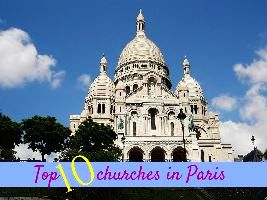 Top 10 churches in Paris