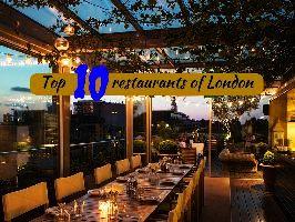 Top 10 restaurants of London