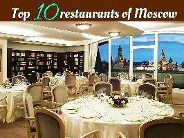 Top 10 restaurants of Moscow