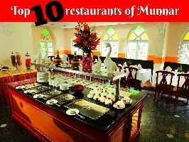 Top 10 restaurants of Munnar