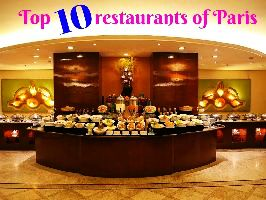 Top 10 restaurants of Paris
