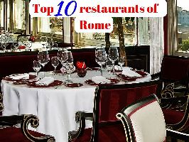 Top 10 restaurants of Rome