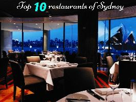 Top 10 restaurants of Sydney