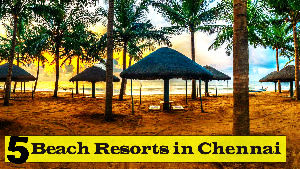 Top 5 Beach Resorts in Chennai