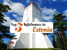 Top 5 lighthouses in Estonia