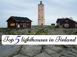 Top 5 lighthouses in Finland