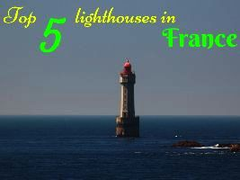 Top 5 lighthouses in France