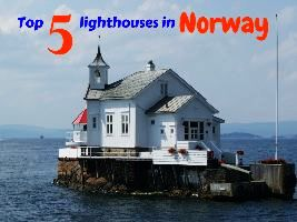 Top 5 lighthouses in Norway