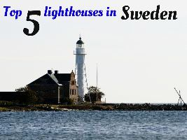 Top 5 lighthouses in Sweden