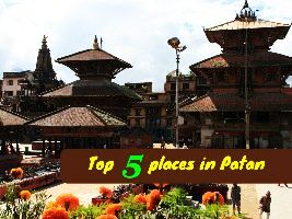 Top 5 places in Patan