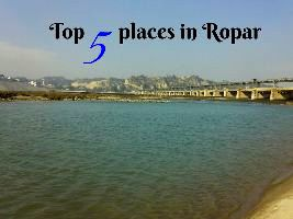 Top 5 places in Ropar