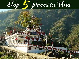 Top 5 places in Una