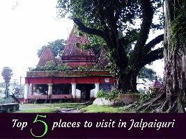 Top 5 places to visit in Jalpaiguri