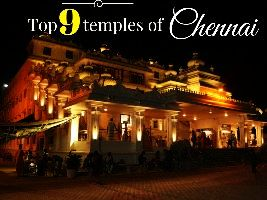 Top 9 temples of Chennai