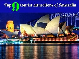 Top 9 tourist attractions of Australia