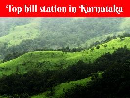 Top hill station in Karnataka
