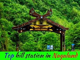 Top hill station in Nagaland