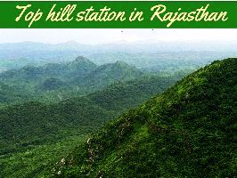 Top hill station in Rajasthan