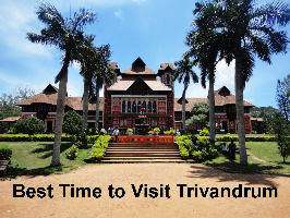 Best time to visit Trivandrum