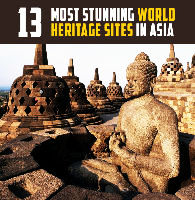 Asia revisited with 13 most stunning World Heritage Sites