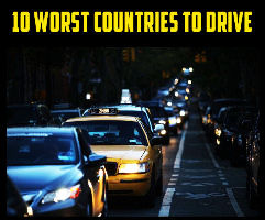 10 Worst Countries To Drive