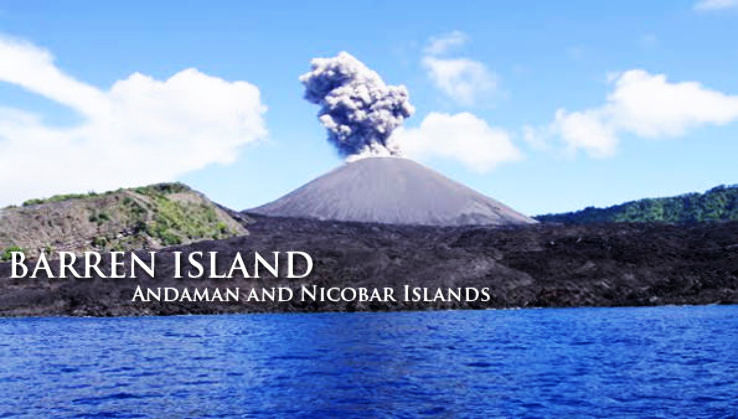 Exploring Barren Island; The Only Active Volcano in India
