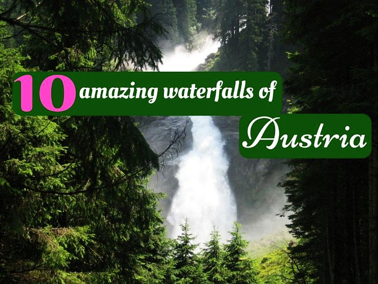 10 amazing waterfalls of Austria
