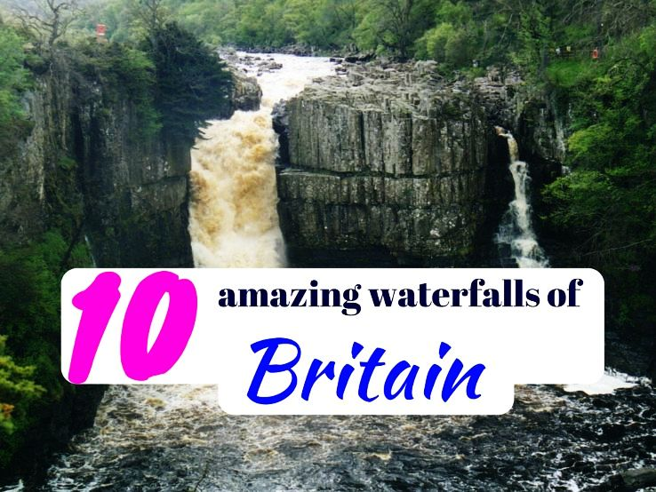 10 amazing waterfalls of Britain