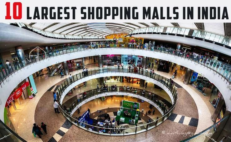 10 Largest Shopping Malls in India