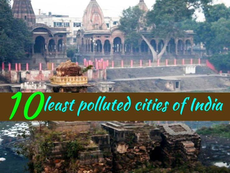 10 least polluted cities of India