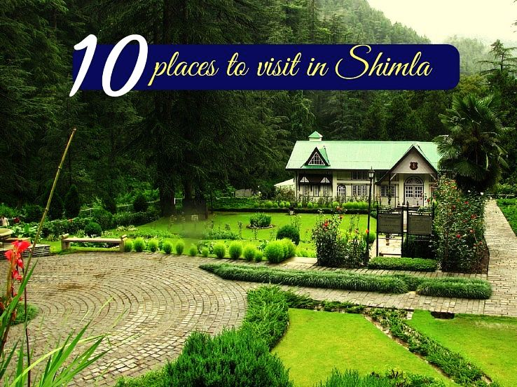10 places to visit in Shimla