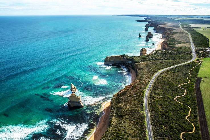 The journey of Great Ocean Road